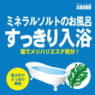 お湯倶楽部 すっきり入浴 16kg [受注生産品]