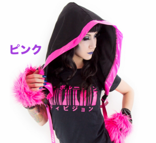 <img class='new_mark_img1' src='https://img.shop-pro.jp/img/new/icons10.gif' style='border:none;display:inline;margin:0px;padding:0px;width:auto;' />Cyber Rave Hood