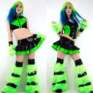 Pleated Rave Skirt