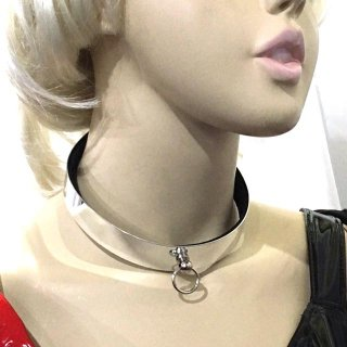 CHOKER メタリックwスモールリング<img class='new_mark_img2' src='https://img.shop-pro.jp/img/new/icons10.gif' style='border:none;display:inline;margin:0px;padding:0px;width:auto;' />