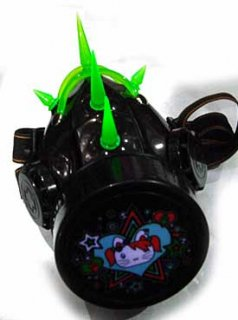 スパイク&チューブ シングルマスク/グリーン