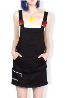 <img class='new_mark_img1' src='https://img.shop-pro.jp/img/new/icons10.gif' style='border:none;display:inline;margin:0px;padding:0px;width:auto;' />CYBERDOG : Apollo Dungaree Dress