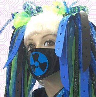 h : PVC マスク print アクティブ
