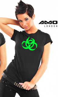 <img class='new_mark_img1' src='https://img.shop-pro.jp/img/new/icons38.gif' style='border:none;display:inline;margin:0px;padding:0px;width:auto;' />amok :Hazard  Girls T-Shirts