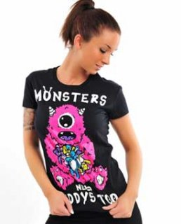 <img class='new_mark_img1' src='https://img.shop-pro.jp/img/new/icons38.gif' style='border:none;display:inline;margin:0px;padding:0px;width:auto;' />amok :Monster  Girls T-Shirts