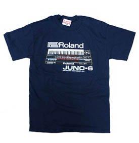 Roland JUNO-6 T-シャツ
