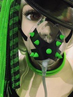 h:スパイク OXYマスク