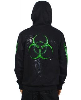 <img class='new_mark_img1' src='https://img.shop-pro.jp/img/new/icons10.gif' style='border:none;display:inline;margin:0px;padding:0px;width:auto;' />CYBERDOG:Mens Zip Hoodie-ViralHazard