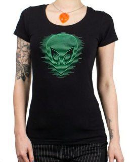 CYBERDOG : Girls S/S Tee Alien