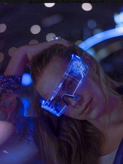 AJ : LED Visor