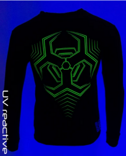 CYBERDOG : ATOMIC L/S HEX HAZARD