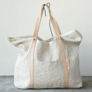 M013 MORMYRUS linen wash tote(M) basic color