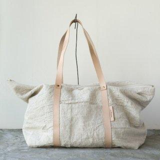 M014 MORMYRUS linen wash tote(L)