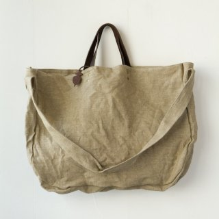M006 MORMYRUS hemp 2way tote(Y)