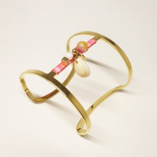PAS SI SAGES <br> BAIL PINK BANGLE/<br>パスシサージ<br>バングル<br>ピンク