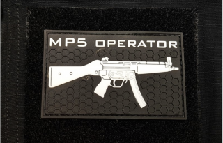 MP5 Operator PVC Patch