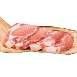 豚熟成肉 豚ステーキセット (ロース、肩ロース120g x 4枚)