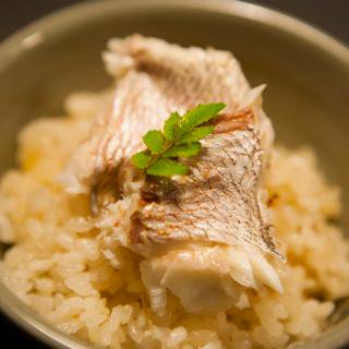 【おうちで簡単においしい鯛ごはんを】青柳特製  鯛御飯