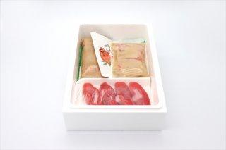 キングサーモン味噌漬とタラコ詰合せ(冷凍)【エコ包装】