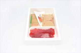 キングサーモン味噌漬けと筋子詰め合わせ(さけ5切)(冷蔵)