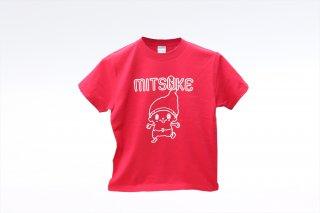 ミッケオリジナルキャラクターTシャツ(前、後プリント);(常温)