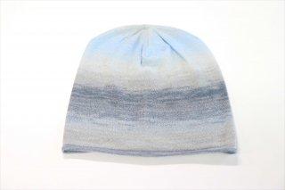 こころが軽くなるニット帽子 空模様シリーズ|空の海(常温)
