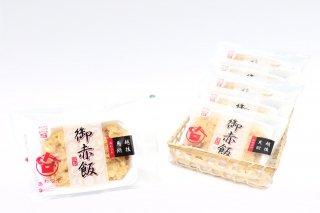 五目赤飯・醤油おこわ6個セット(冷凍)【エコ包装】