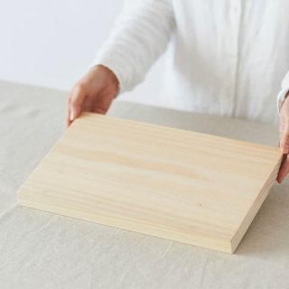 削り直せるイチョウの木のまな板
