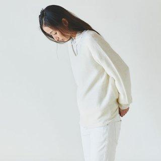 enrica v-neck knit offwhite