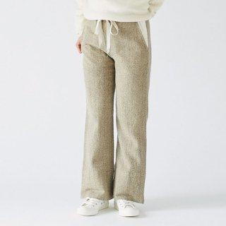 enrica herringbone pants beige