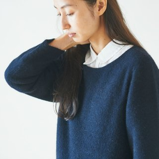 enrica cashimir knit navy