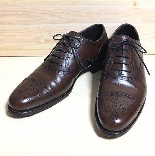 """""""美品""""三陽山長(サンヨウヤマチョウ) × UNITED ARROWS(ユナイテッドアローズ)Semi Brogue Derby Shoes(セミブローグ ダービー シューズ)Size:6.5"""