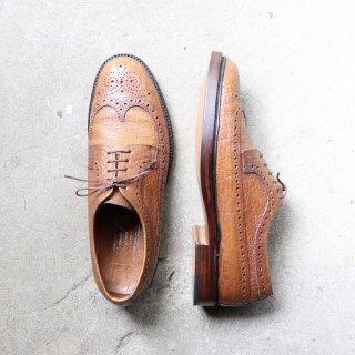 """""""美品"""" CHEANEY OF ENGLAND(チーニーオブイングランド)Full Brogues Shoes(フル ブローグ シューズ)UK9 プレーリーバッファローレザー"""