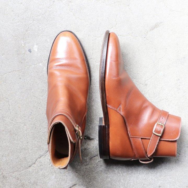 """【レディース】""""美品/希少品"""" SHIPTON&HENEAGE(シップトン&ヘネッジ)Jodhpur Boots(ジョッパーブーツ)UK5.5 C Crockett&Jones製 ライトブラウン"""