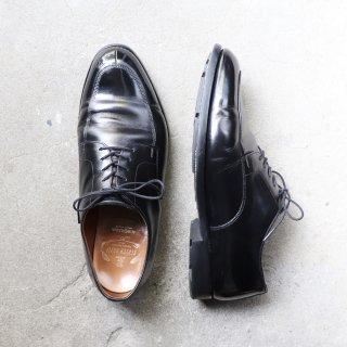 "<img class='new_mark_img1' src='https://img.shop-pro.jp/img/new/icons1.gif' style='border:none;display:inline;margin:0px;padding:0px;width:auto;' />""美品"" SCOTCH GRAIN(スコッチグレイン)Utip Shoes(Uチップ シューズ)27.0cm EEEE SGソール ブラック 4019 箱付"