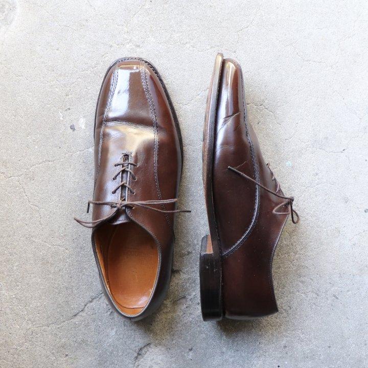 """""""美品"""" Allen Edmonds(アレンエドモンズ)Swirl mocca Shoes(スワールモカ シューズ)US9 3E Saxon ダークブラウン 00s"""