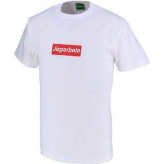 JOGARBOLAボックスロゴTシャツ - WHT/RED<img class='new_mark_img2' src='//img.shop-pro.jp/img/new/icons5.gif' style='border:none;display:inline;margin:0px;padding:0px;width:auto;' />