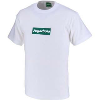 JOGARBOLAボックスロゴTシャツ - WHT/DGRN<img class='new_mark_img2' src='https://img.shop-pro.jp/img/new/icons5.gif' style='border:none;display:inline;margin:0px;padding:0px;width:auto;' />