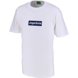 JOGARBOLAボックスロゴTシャツ - WHT/NVY<img class='new_mark_img2' src='https://img.shop-pro.jp/img/new/icons5.gif' style='border:none;display:inline;margin:0px;padding:0px;width:auto;' />