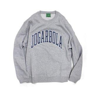 JOGARBOLA アーチロゴ クルースウェット - GRY