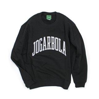 JOGARBOLA アーチロゴ クルースウェット - BLK