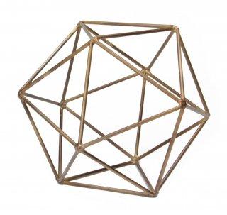 "Icosahedron Frame ""Brass(S)""の画像"