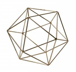 "Icosahedron Frame ""Brass(M)""の画像"
