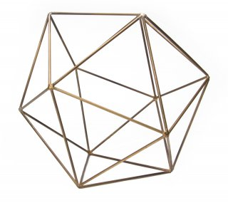 "Icosahedron Frame ""Brass(L)""の画像"