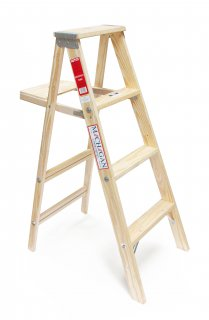 "Wood Stepladder ""Size 4""の画像"