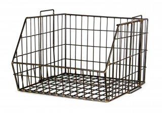 "Wire Stacking Basket ""Regular""の画像"