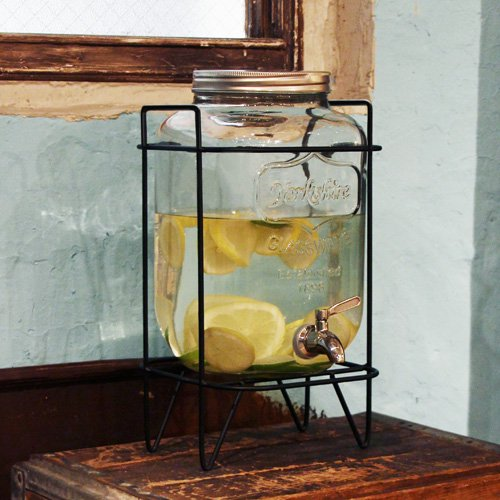 Yorkshire Mason Jar Drink Dispenserの画像
