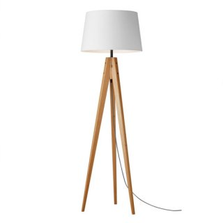 Espresso-floor lamp 電球なしの画像