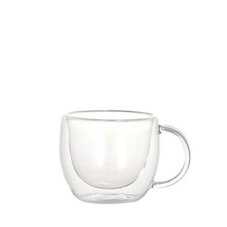 DOUBLE WALL GLASS CUP LUNGOの画像