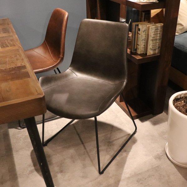 PUNISH wing chair [DBR]の画像
